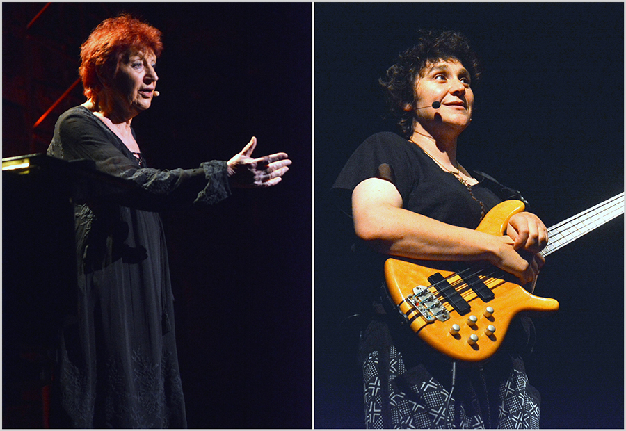 Barjac m'en chante 2019 – Marion Cousineau – Anne Sylvestre (© Luc Allegier)