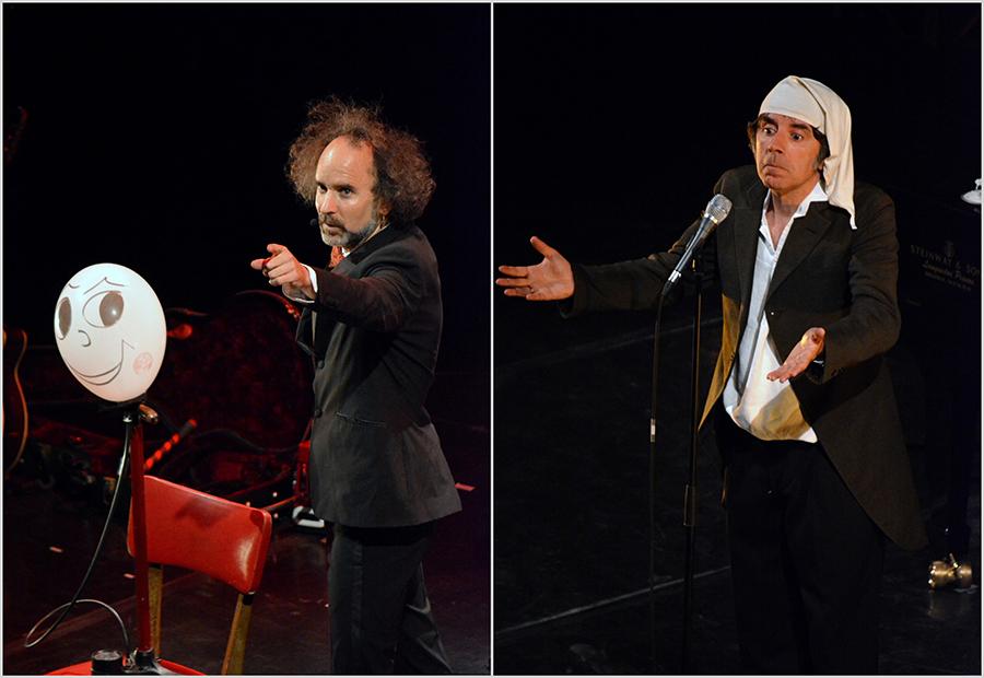 Barjac m'en chante 2019 – David Sire & Cerf Badin – Thomas Fersen (© Luc Allegier)