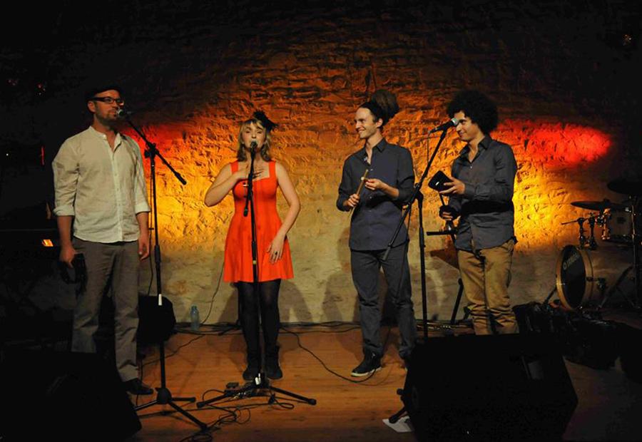 Claire Gimatt en quartet (© droits réservés)