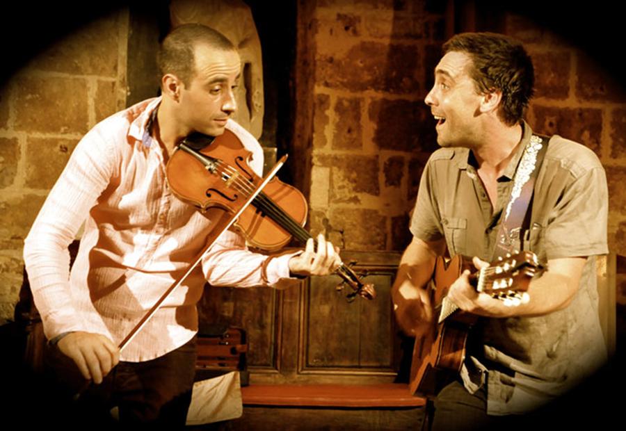 Raphaël Chetrit et Olivier L'Hôte (© droits réservés)