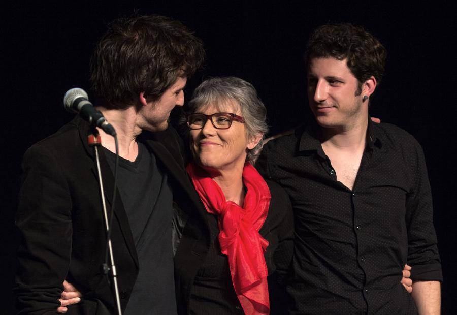 Frédéric Bobin, Claude Fèvre et Pierrick Vivarès (© Paul Barbier)