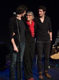 Frédéric Bobin, Claude Fèvre et Pierrick Vivares - L'insurrection poétique (©Michel Nino)
