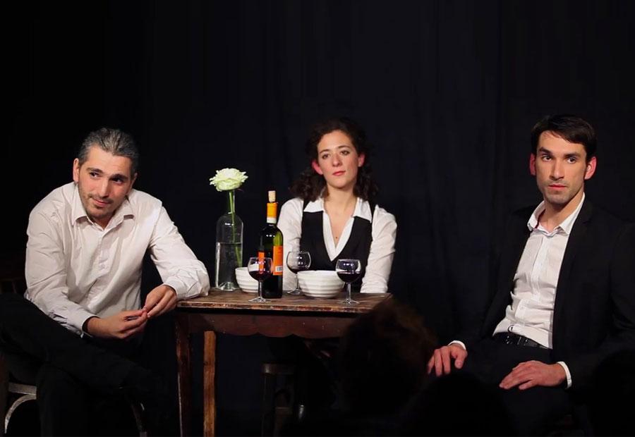 Cabaret All'Arrabbiata - Pablo Seban, Renata Antonante et Lucas Lemauff (© droits réservés)