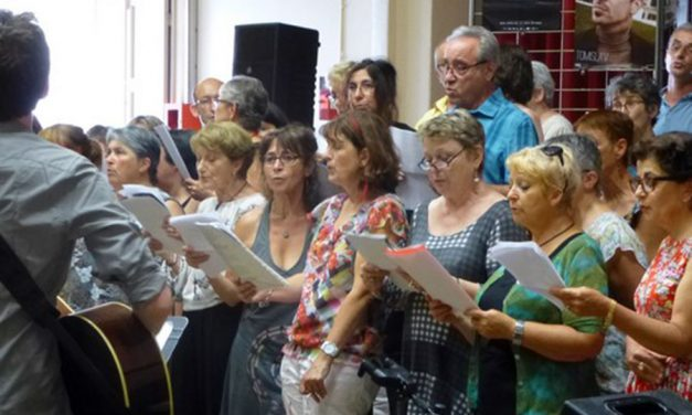 À Blanzat, on chante soir et matin