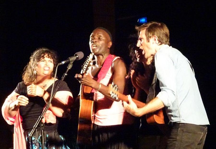 Concert organisé pour Les Enfants du Toit du monde (© Claude Fèvre)