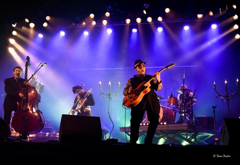 Festival Bernard Dimey 2016 – Mazo fait son grand cirque