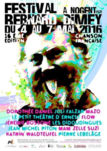 Festival Bernard DIMEY 2016, Jean-Michel Piton cœur ouvert pour Dimey (© droits réservés)