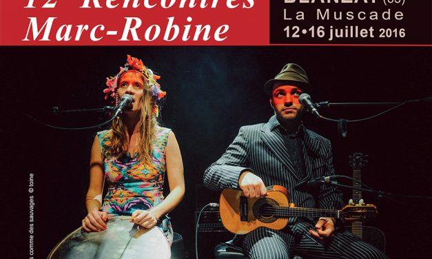 12<sup>e</sup> Rencontres Marc Robine – Chanter sur tous les tons