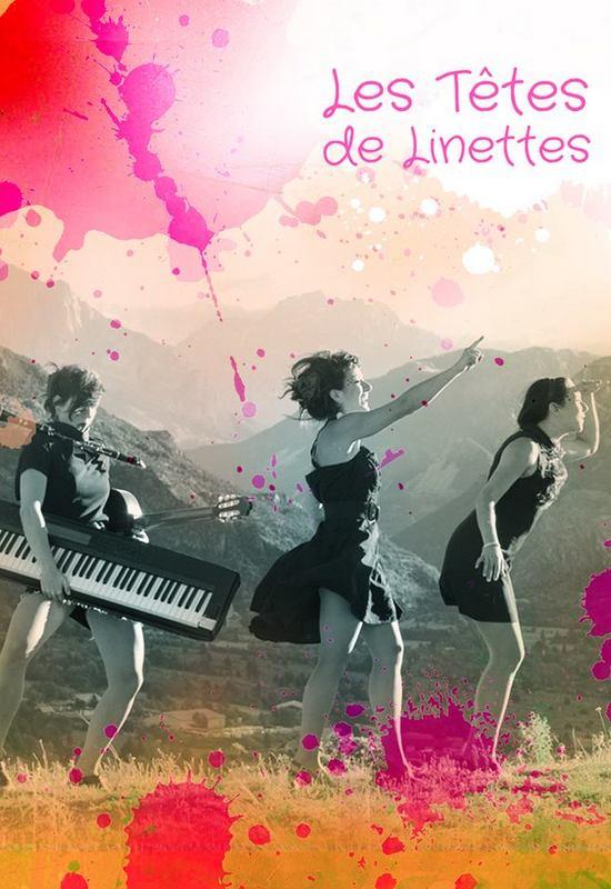 Les Têtes de Linettes, couverture EP (© Elsa Mesager)