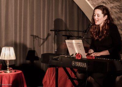 Dora Mars - Il était un piano noir... Lecture musicale (© Domi Decker)