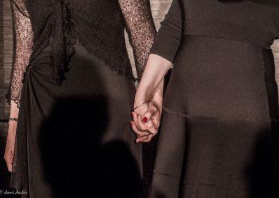 Claude Fèvre & Dora Mars sur scène - Il était un piano noir... Lecture musicale (© Domi Decker)