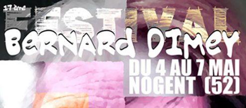Festival Bernard Dimey à Nogent (Haute-Marne) du 4 au 7 mai 2017