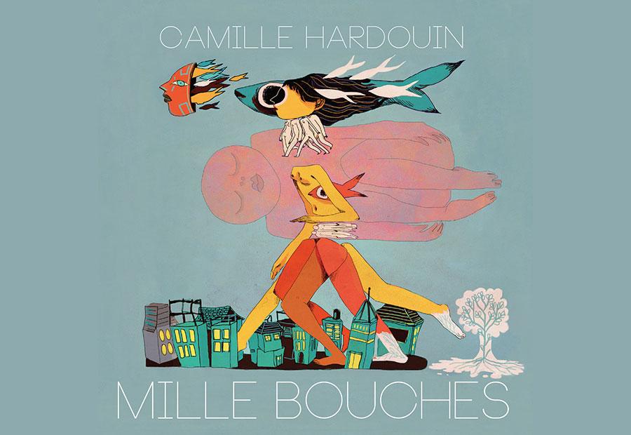 Camille Hardouin, Mille bouches, 2017 (© Maya Mihindou)