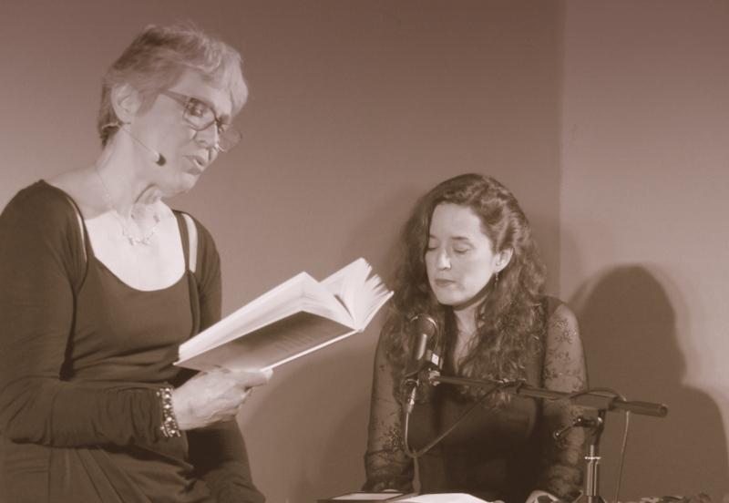 Lecture : Il était un piano noir, Moissac (© Sylvie Ena)