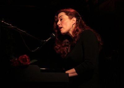 Dora Mars - Il était un piano noir... Lecture musicale (© René Pagès)