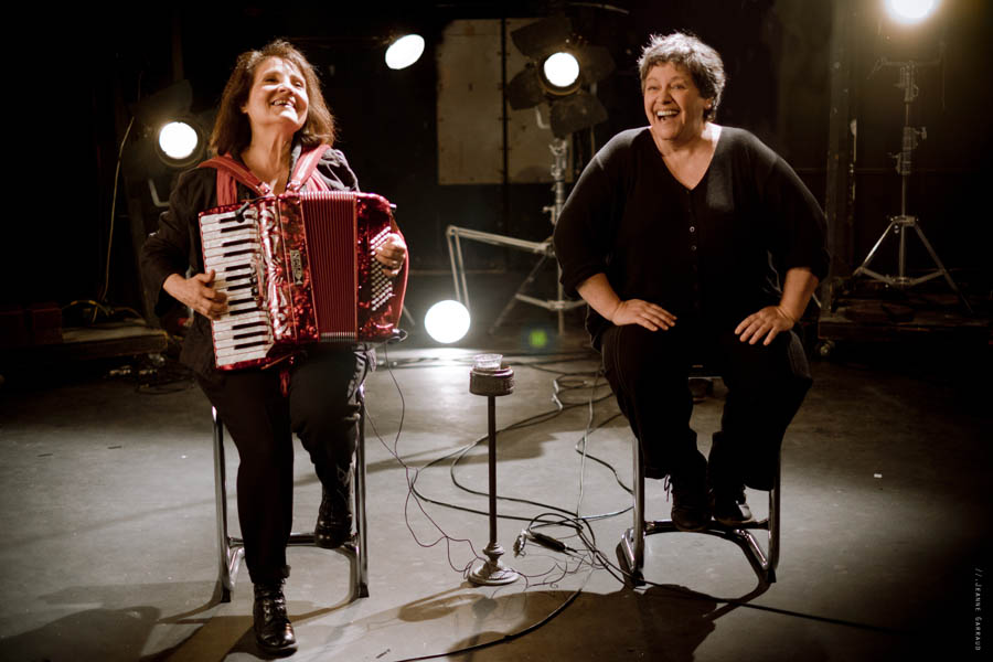Michèle Bernard & Monique Brun (©Jeanne Garraud)