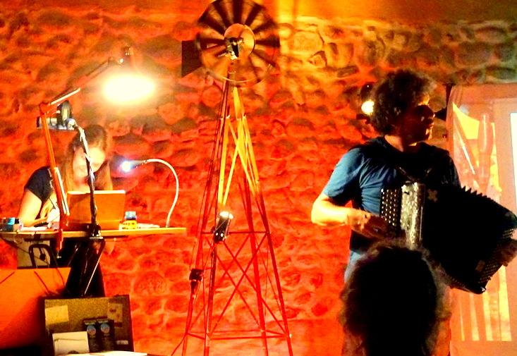 Concert dessiné – François Gaillard & Marie Bobin (©Claude Fèvre )