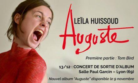 Leïla Huissoud, « Chianteuse, sensible et révoltée »
