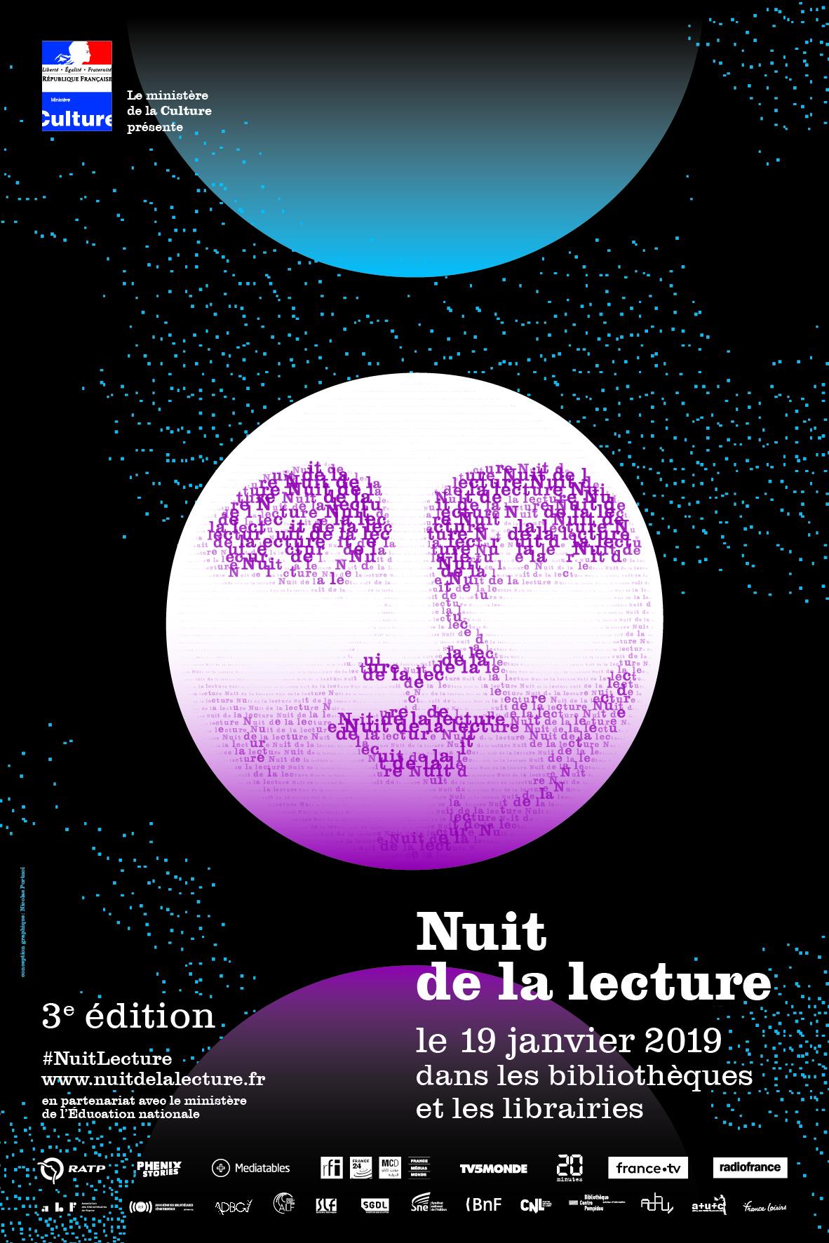 Nuit de la lecture à la Limonaderie (Foix, Ariège) - 19 janvier 2019