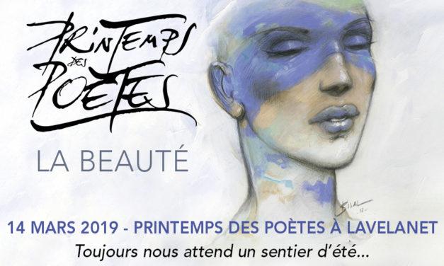 21<sup>e</sup> Printemps des Poètes à Lavelanet (Ariège) – 14 mars 2019 à 20h45