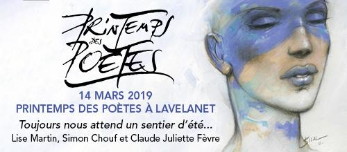 Printemps des Poètes 2019 à Lavelanet