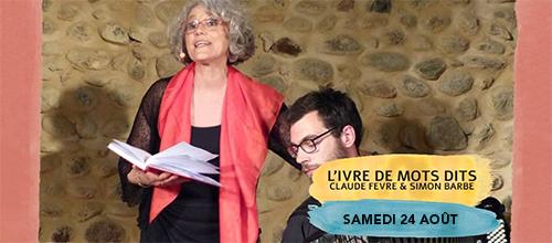Lecture Musicale - L'ivre de Mots Dits (Claude Fèvre)