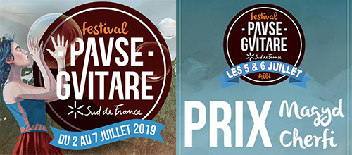 Pause Guitare : Prix Magyd Cherfi, à Albi - du 5 au 6 juillet 2019