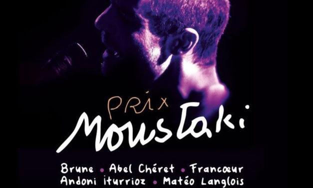 Prix Georges Moustaki, à Paris, le 20 février 2020