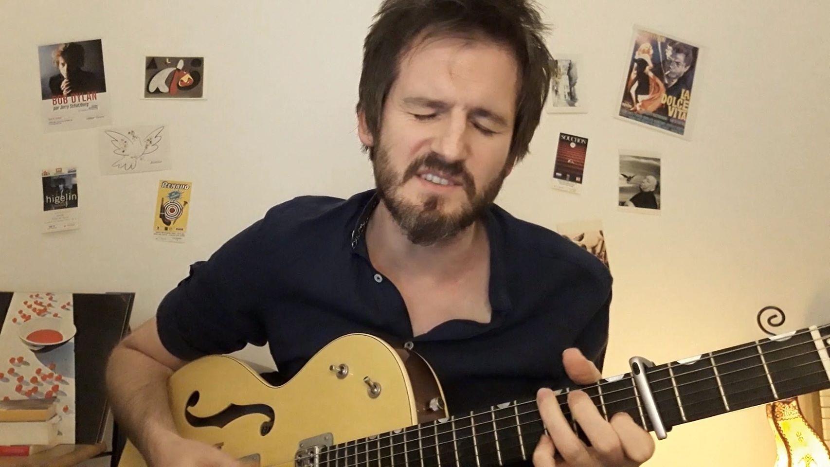 Frédéric Bobin – Guitar Songs – décembre 2020  (©captation écran vidéo)
