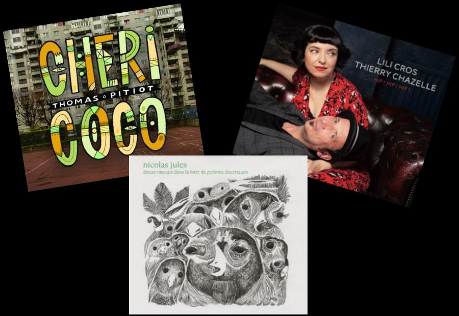 1, 2, 3 albums,  un patchwork en chansons (©Droits Réservés)