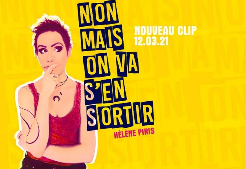 Hélène Piris,  Non mais on  va s'en sortir, 12 mars 2021 (©Frédéric Bobin / Artwork Neomme Bruno)