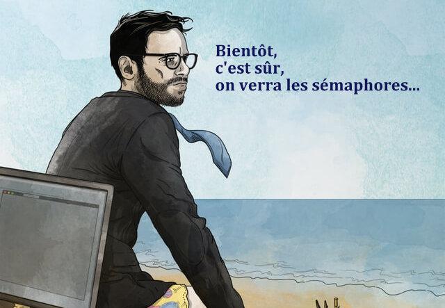 Yves Marie Bellot, album Grand Plongeoir, 2020 (© Victor Moury)
