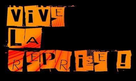 Vive la reprise! 2013 – Un billet pour Paris le 7octobre!