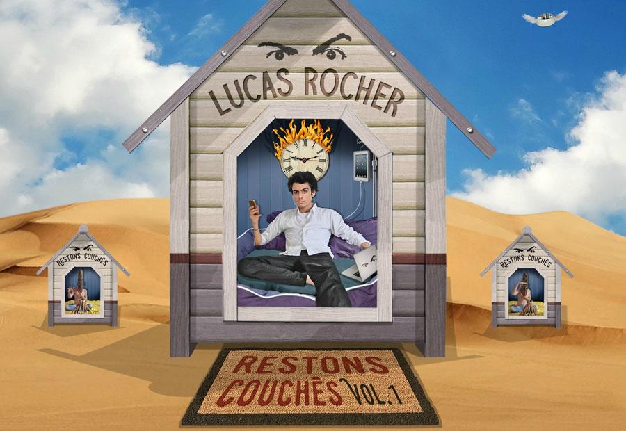 Lucas Rocher, un turbulent de la Chanson