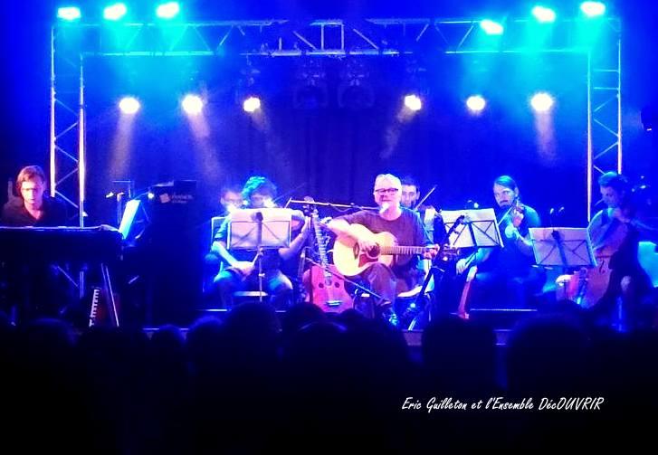 14<sup>e</sup> festival DécOUVRIR , Eric Guilleton, c'est beau d'être vivant