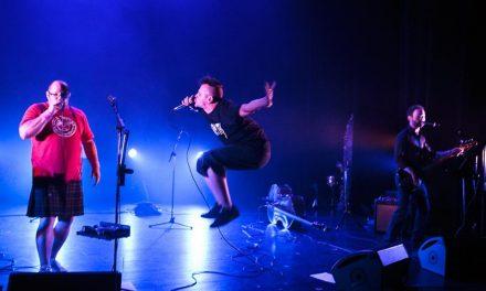 1<sup>er</sup> Festival « Lève ton vers » – Erwan Pinard & Zob, Chanteurs agités