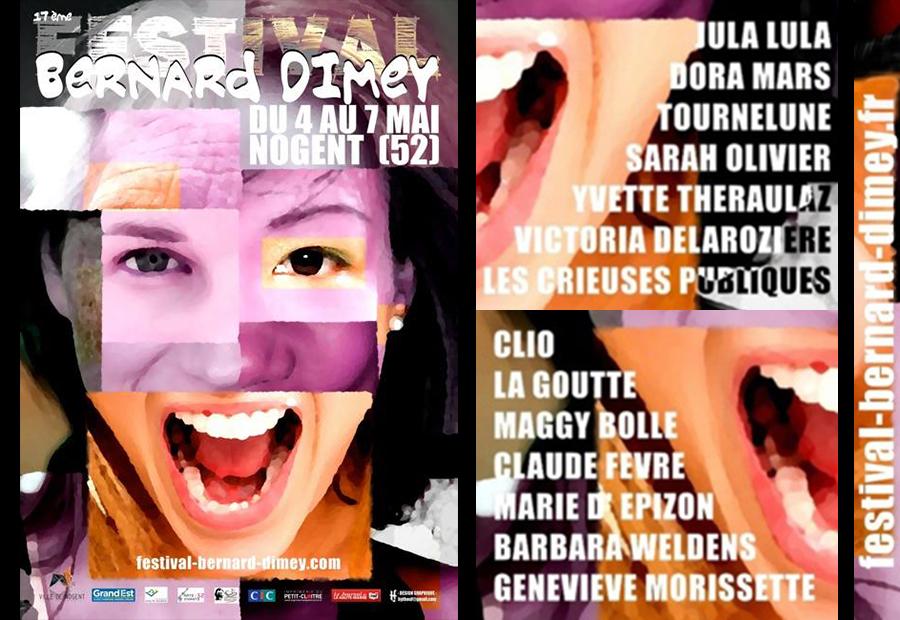 Festival Bernard Dimey 2017 – Ah les femmes…