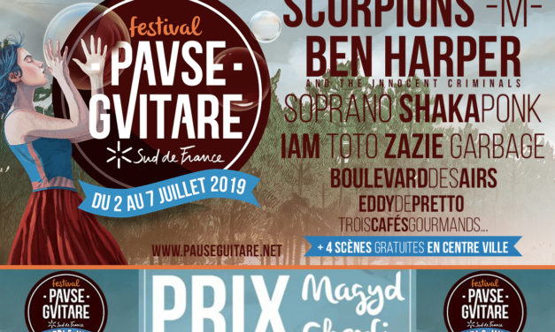 Pause Guitare : Prix Magyd Cherfi – du 5 au 6 juillet 2019, à Albi