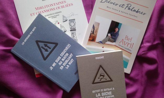 Dimoné, Daguerre, Marcel Amont, Marc Estève & Sylvain Cazalbou, D'encre et de papier